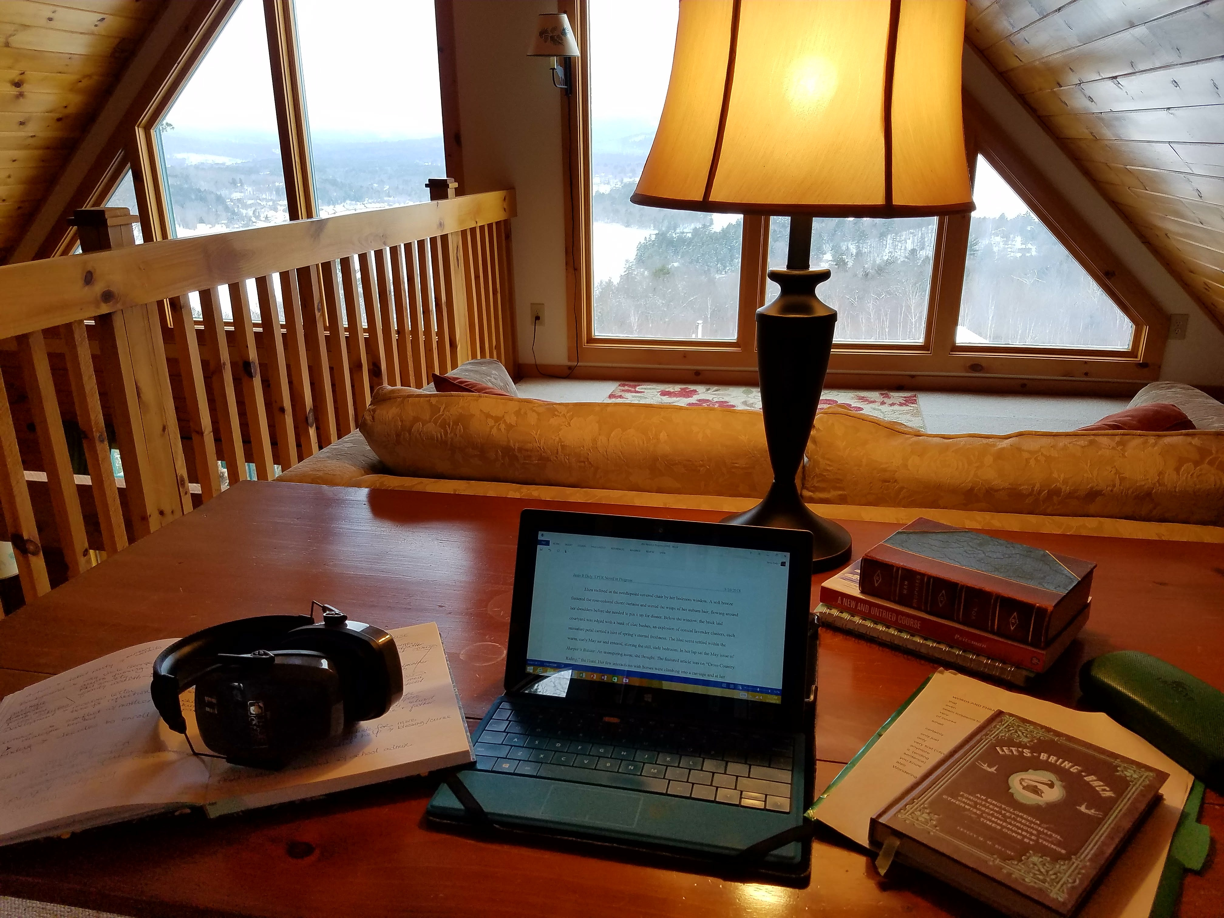 NH writing desk