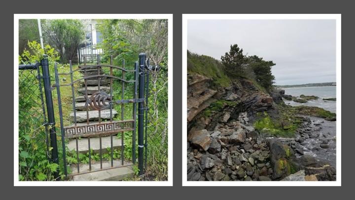 gate and ledge