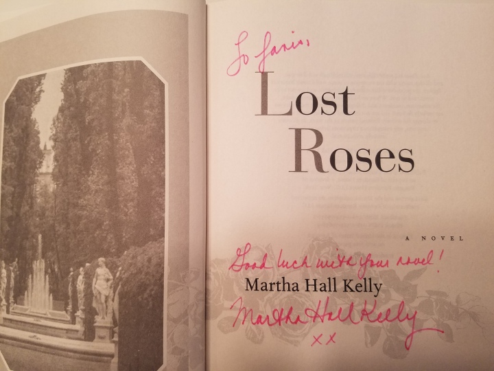 Lost Roses inscribe A