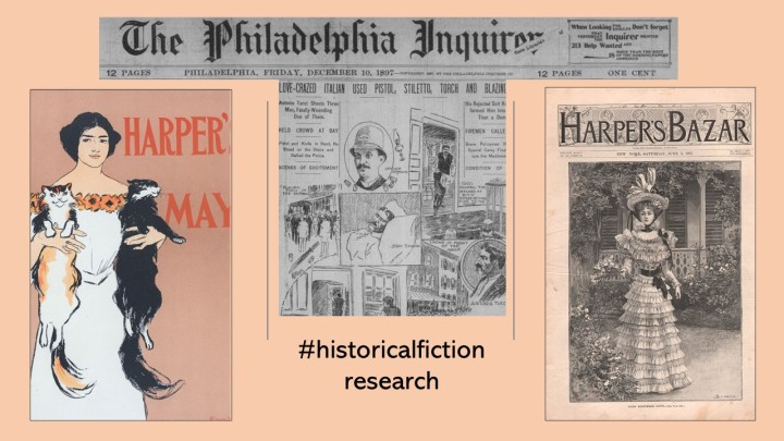 blog historical fiction research
