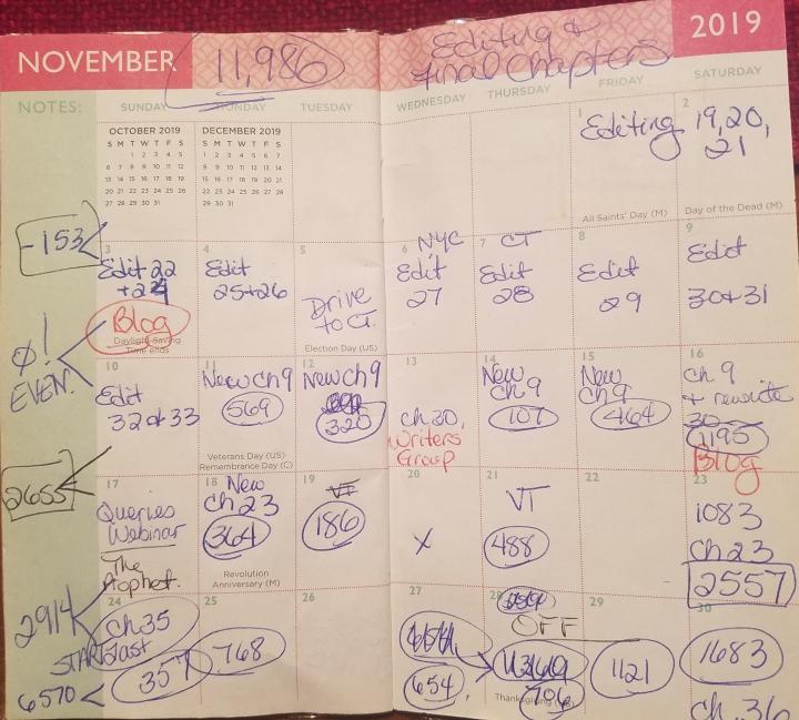 nov 2019 calendar