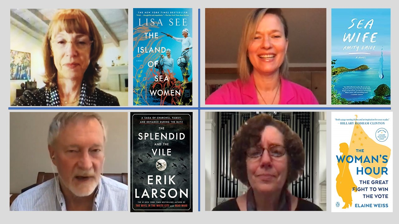 authors on virtual tour