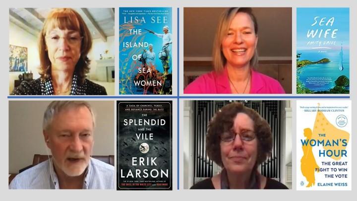 authors on virtual tour
